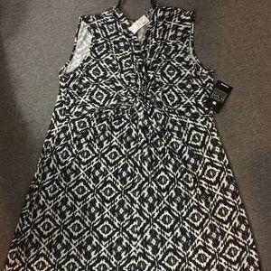 Avenue knot front maxi dress